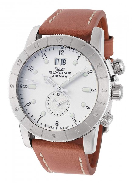 Glycine Airman GMT Datum Quarz GL0149
