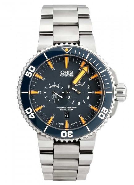 Oris Tubbataha Limited Edition 749 7663 7185-Set MB
