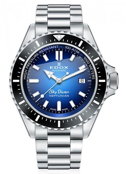 EDOX SkyDiver Neptunian Datum Automatik 80120 3NM BUIDN