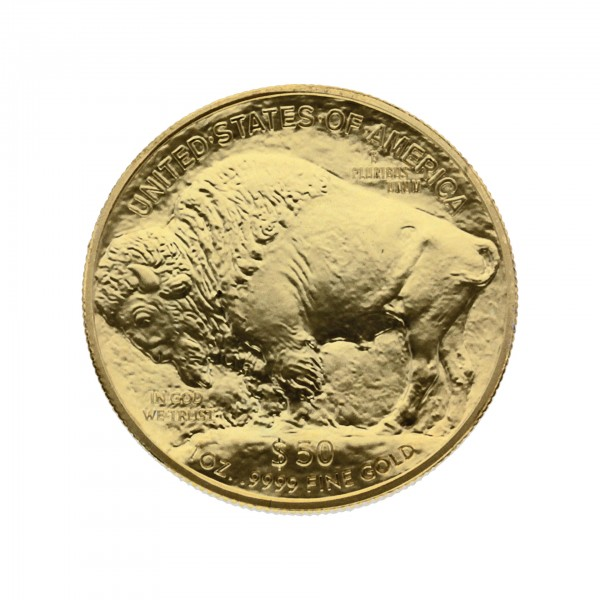 "1 oz USA 2018 ""American Buffalo"" 50 Dollar Goldmünze"