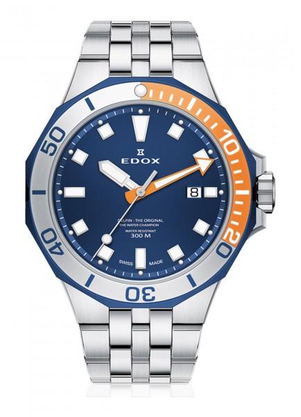 Edox Delfin Date 53015 357BUOM BUIN