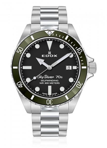 EDOX SkyDiver 70s Datum Automatik 80115 3VM NN