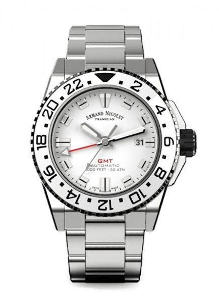 Armand Nicolet JS9 GMT Datum Automatik A486CGN-AG-MA4480AA