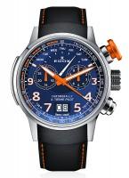 EDOX Chronorally X-treme Pilot Großdatum Wochentag Chronograph Quarz 38001 TINO BUO3