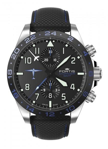 Fortis Aviatis Dornier GMT Chronograph Automatik 402.35.41 LP15