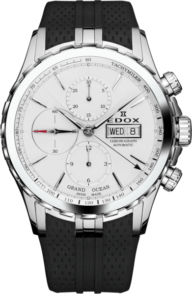 Edox Grand Ocean Automatik Chronograph 01113 3 AIN