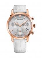 Claude Bernard Jolie Classique Chronograph Datum Quarz 10231 37R AIR