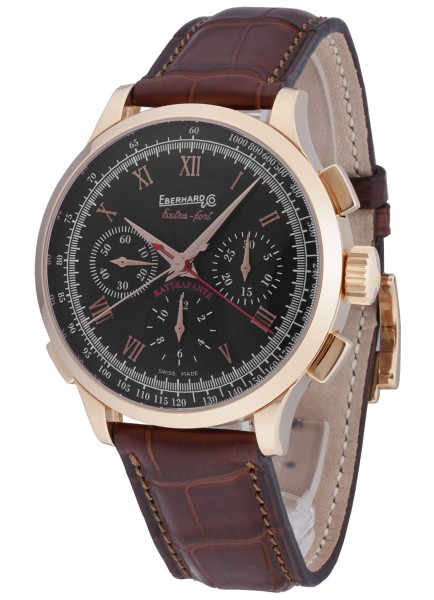 Eberhard & Co Extra-Fort Chrono Rattrapante -Limited Edition- 18kt Gold 30063.1
